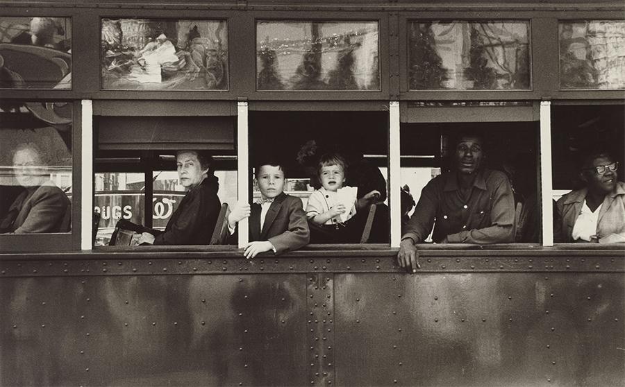 robert frank nola trolley 1955